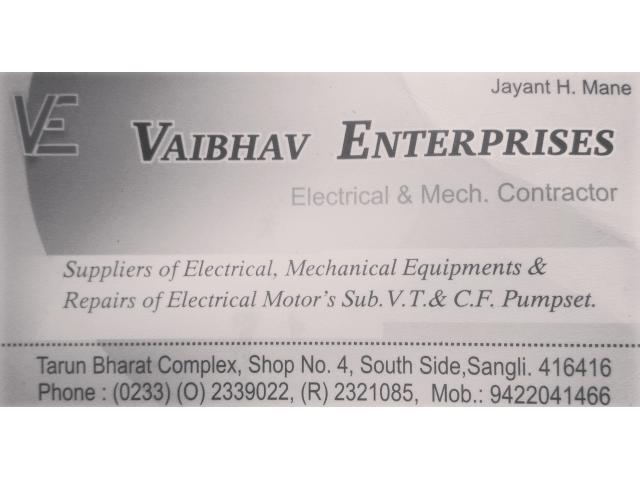 Electrical , Mechanical equipments Repairs