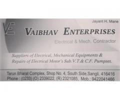 Supplier of sub V.T & C.F.pumset