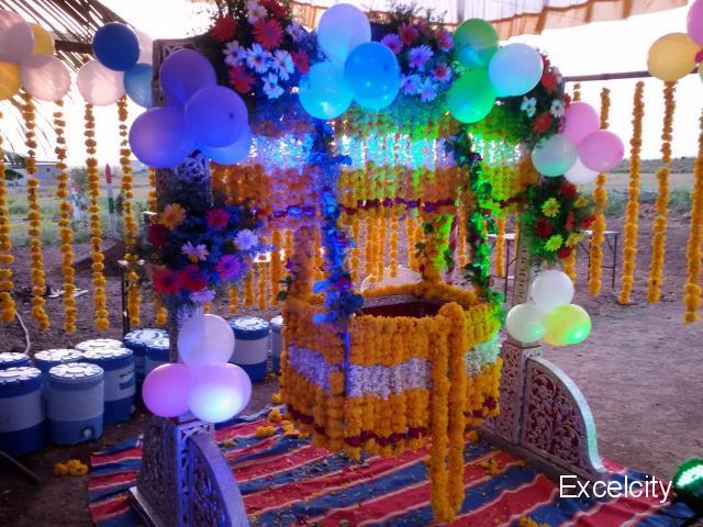 Kartik Flower Decoration