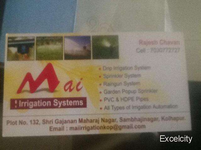 Mai Irrigation system
