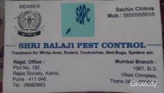 Shri Balaji Pest Control