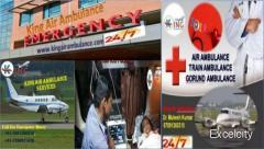 King Air Ambulance Services in Aurangabad