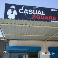 Casual Square Mens Wear