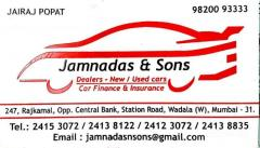 Jamnadas and Sons
