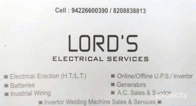 Lord's Sales and Services