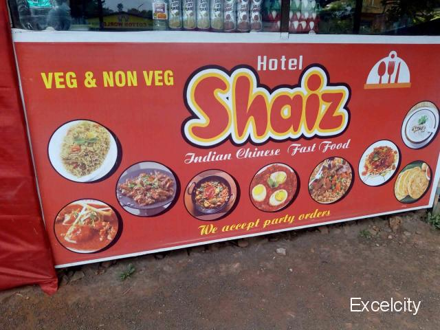 Hotel Shaiz Indian Chinese Fast Food