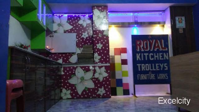 Royal Modular Kitchen Trolley