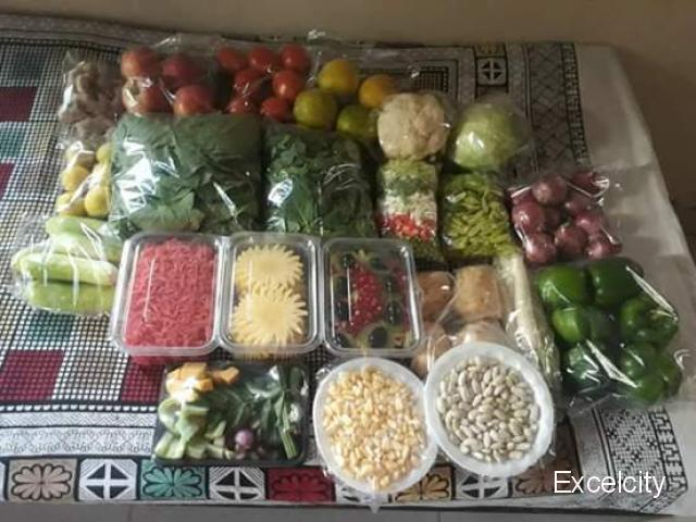 Prasad Vegetables and Fruits