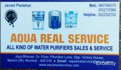 Aqua Real service