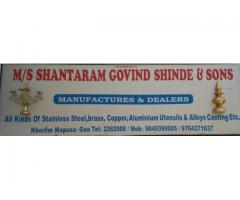 M/S. Shantaram Govind Shinde & Sons