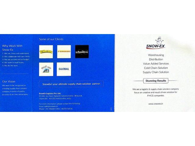 Snow-Ex Logistics Pvt. Ltd.