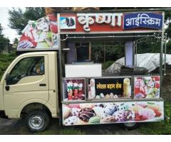 Krushna and Mahawir Ice cream