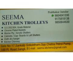 Seema Kitchen Trolleys