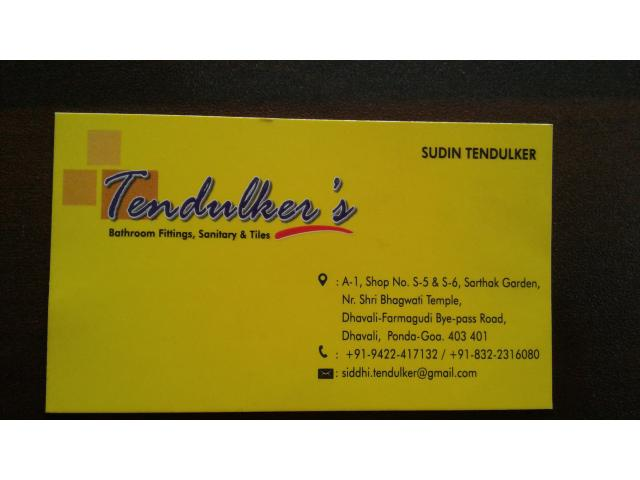 Tendulker's Sanitary And Tiles