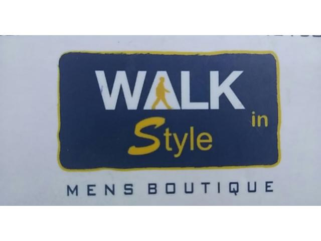 Walk In Style Mens Boutique