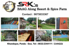 SRK's Baag Along Resort and Spice Farm