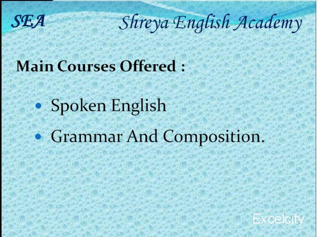 Shreya English Academy